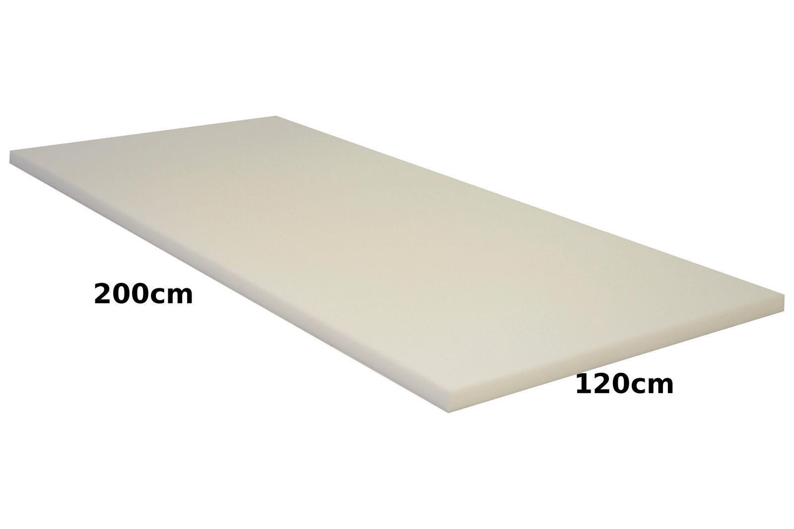 Schaumstoff Schaumstoffpolster Schaumstoffplatte Polster Polster Polster 120x200x9cm RG 35 43 2d789d
