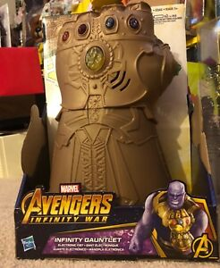 Marvel Infinity War Infinity Gauntlet Electronic Fist Fist Figure