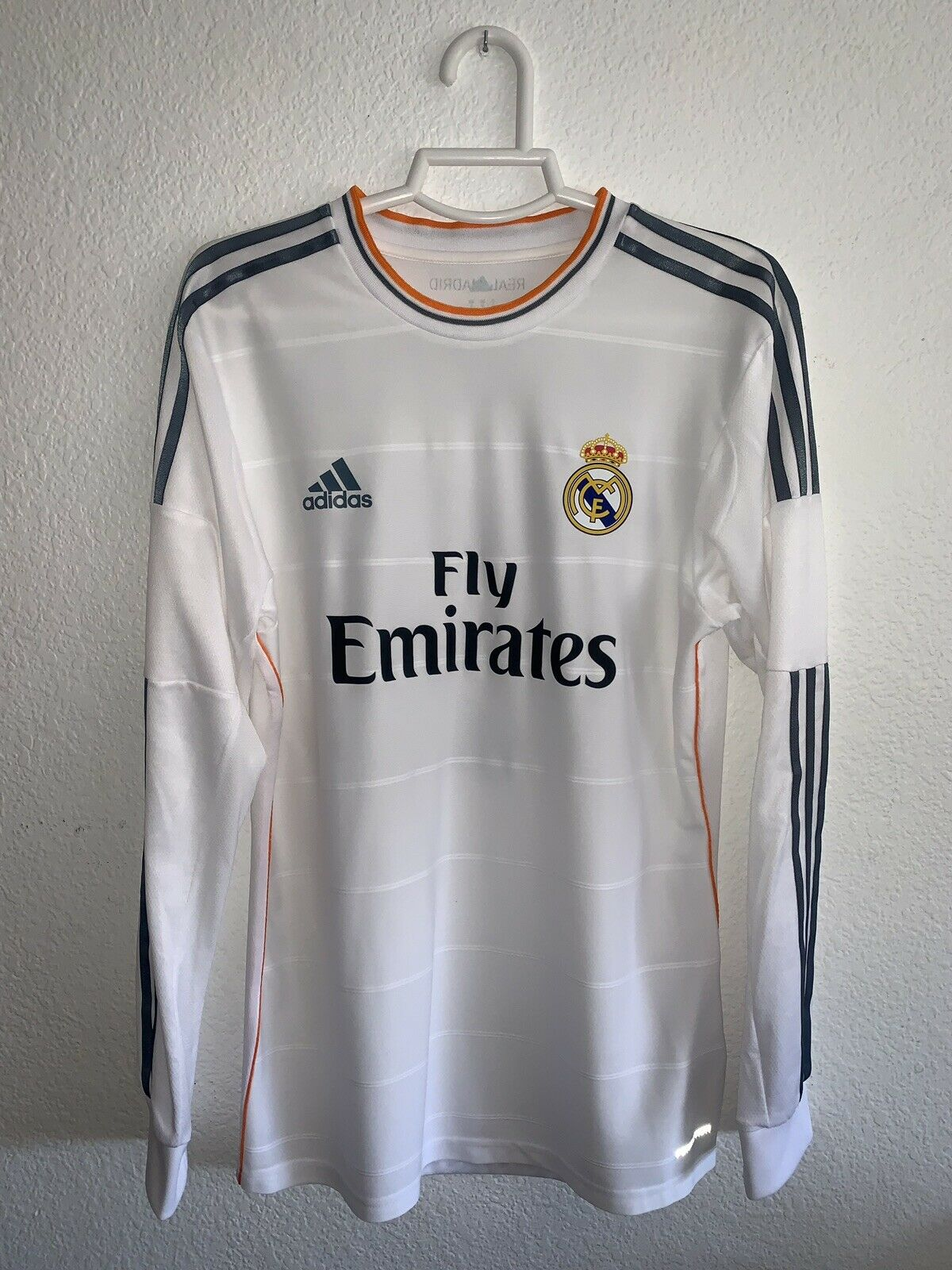 1º Real Madrid Formotion 13 14 No Match Worn Talla 8 Marcelo 12Player Issue