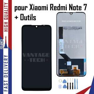 pour XIAOMI REDMI NOTE 7 ECRAN LCD DISPLAY SCREEN VITRE TACTILE NOIR + Outils