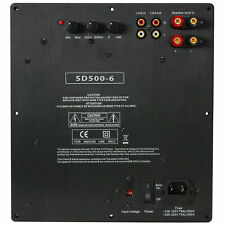 Yung Sd500-6 500w Class D Subwoofer Plate Amplifier Module With 6 DB @ 25 Hz