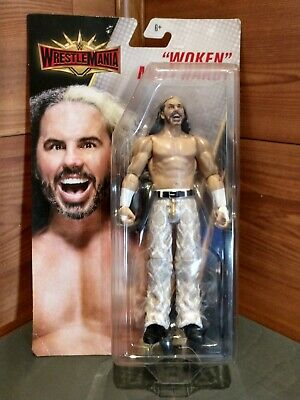 "6+ New Mattel WWE Wrestlemania ""Woken"" Matt Hardy Action Figure Toy"