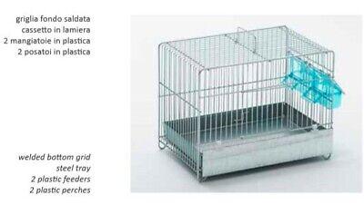 Hard-Working Gabbia Cova 30 Zincata. Bird Supplies