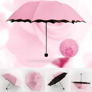Folding Rain Umbrella Anti-UV Sunproof Parasol Sunshade Sunproof Automatic Open