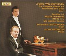Ludwig van Beethoven: Complete Works for Pianoforte and Violin Volume 1, New Mus