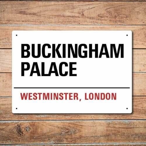 Mur de chimpanzé London Métal Rue Signe-Buckingham Palace