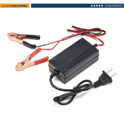 12v trickle charger battery maintainer Motorcycle Car Boat ATV