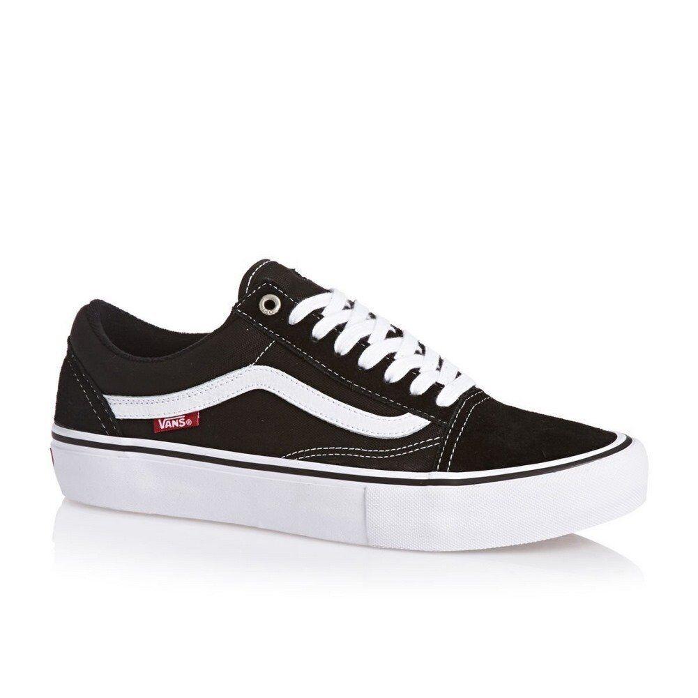Vans Old Skool Pro Shoes Black Men VZD4Y28