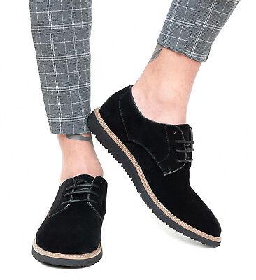 Scarpe uomo Trade nero casual inglesine man's shoes sneakers in ecopelle | eBay