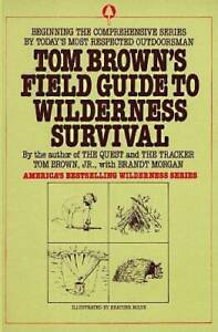 Tom Brown's Field Guide to Wilderness Survival - Paperback By Brown, Tom - GOOD