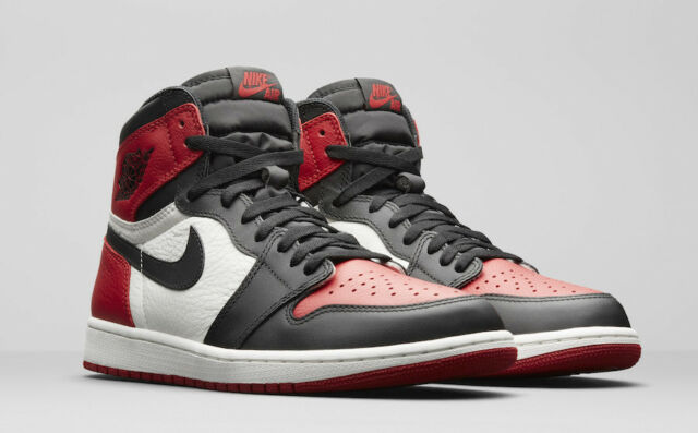designer fashion 1224e 99b6e 2018 Nike Air Jordan 1 Retro High OG Bred Toe Size 12.5. 555088-610