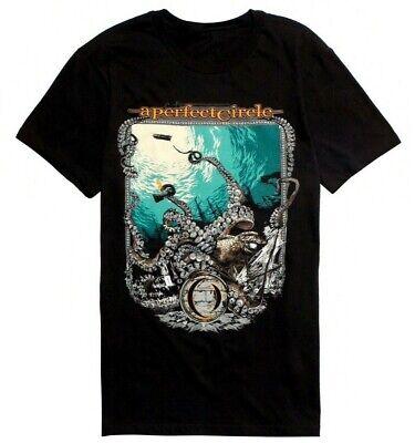 A Perfect Circle-Orange Octopus-2011 Tour-Gray T-shirt