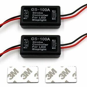 2x-12V-24V-Flash-Strobe-Controller-Flasher-Module-for-LED-Brake-Stop-Light-Lamp