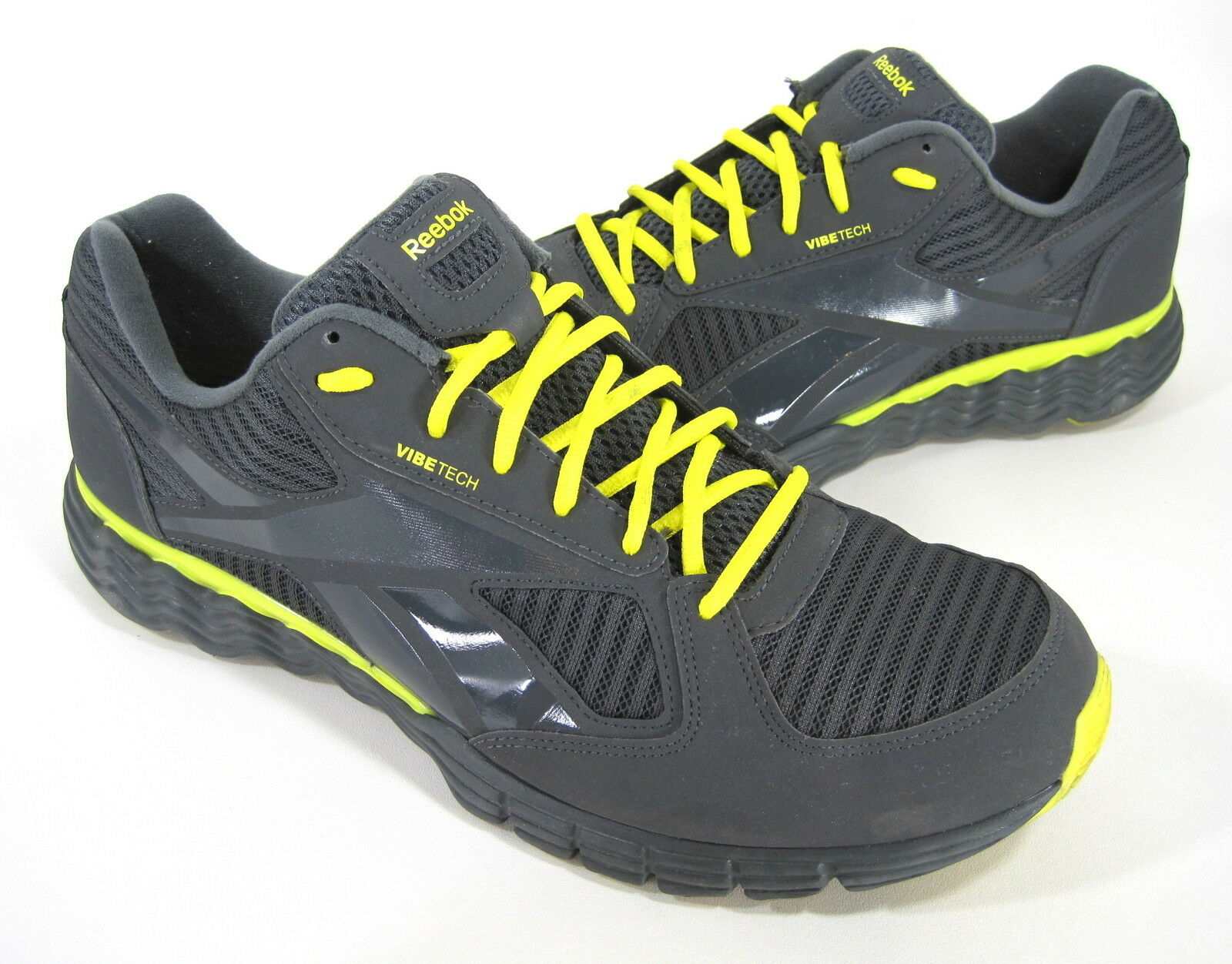 REEBOK Homme ULTIMATEVIBE RUNNING Chaussures TAR/GRAVEL/SUN ROCK US SZ 13 MEDIUM (B)M