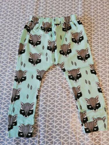 Garçons Vert raton laveur Pantalon Leggings NEXT Boden Zara