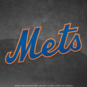 e1af2c80a New York Mets Jersey Logo Vinyl Decal Sticker MLB - 4