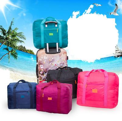 Big Foldable Travel Storage Luggage Carry-on Organizer Hand Shoulder Duffle