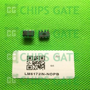 3PCS-OP-AMP-IC-LM6172IN-DIP-8-NSC-LM6172IN-NOPB