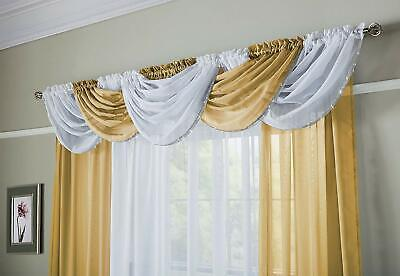 SILVER GLITTER SPARKLES GREY THICK VOILE NET SLOT TOP CURTAIN PANEL £7.49 EACH