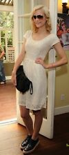 NWT Banana Republic The Mad Men Collection Cream lace dress 12
