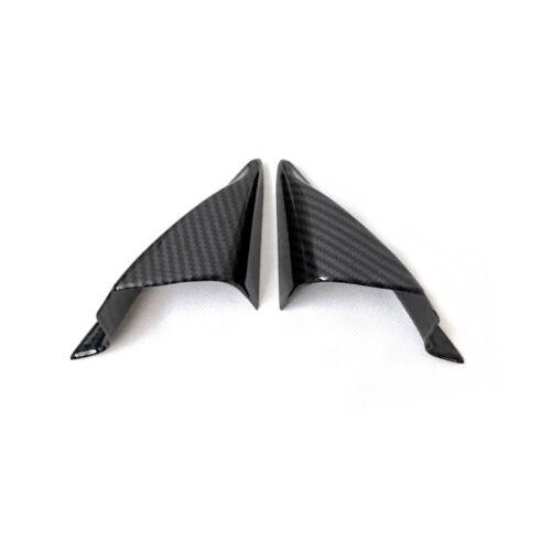 Interior Front Upper Triangle A Pillar Cover Trim ABS 2pcs For Mazda CX-5 2018