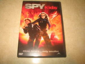 Spy-Kids-DVD-2001-Canadian-Includes-Insert-English-French-Spanish