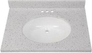 Home Decorators Collection Vanity Top Sink Basin Oval Undermount 31x22 Silver 8033167110 Ebay