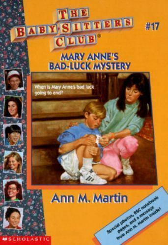 Mary Anne's Bad-Luck Mystery (Baby-Sitters Club) by Martin, Ann M.