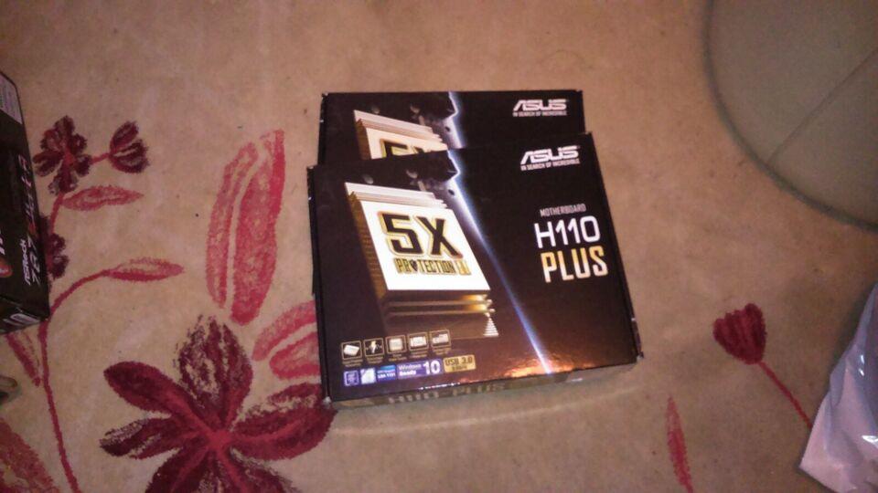 bundkort +grafikkort, ASUS, H 110 Plus