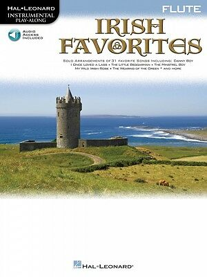 Musical Instruments & Gear Irish Favorites Flute Instrumental Play-along Book And Audio New 000842489 Ample Supply And Prompt Delivery Instruction Books, Cds & Video