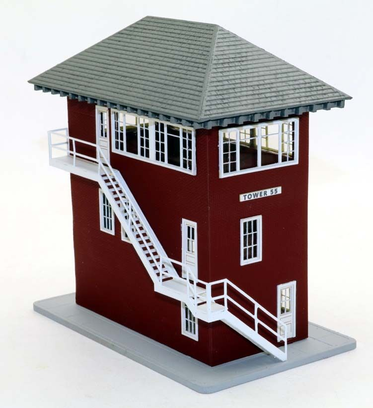 Red River Models N Scale Signal Tower 55 Ft. Worth TX  Building Kit