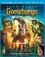 Goosebumps (3D Blu-ray + Blu-ray + DVD + UltraViolet) Ultraviolet, 3D