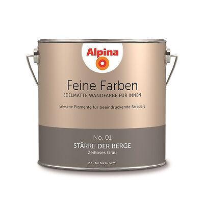 Alpina Feine Farben Farbwahl 2,5 L Wunschfarbton NEU & OVP