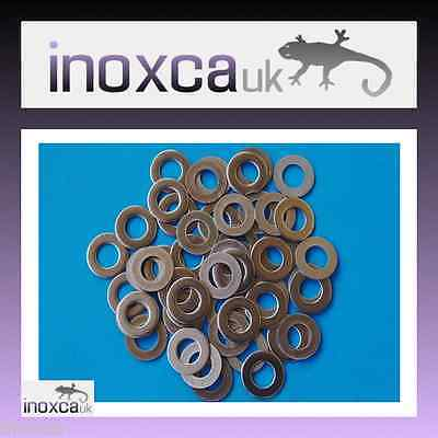 150 M6 FLAT WASHERS BS 4320 FORM B GRADE A2 STAINLESS STEEL 304 6mm METRIC  INOX