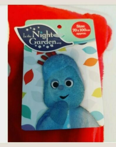 In The Night Garden Iggle Piggle Cosy Couverture Taille 70 cm x 100 cm