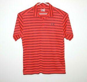 Under-Armour-Heatgear-Loose-Polo-Shirt-Size-Men-039-s-Large