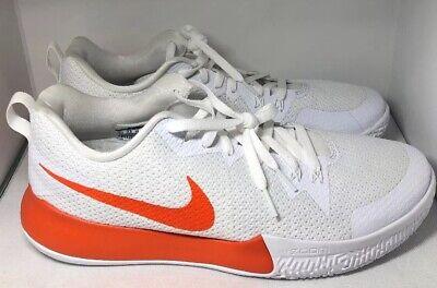 cemento conservador infinito  Nike Zoom Live 2 II Racer Orange White Basketball Shoes Mens Size 14.5    eBay