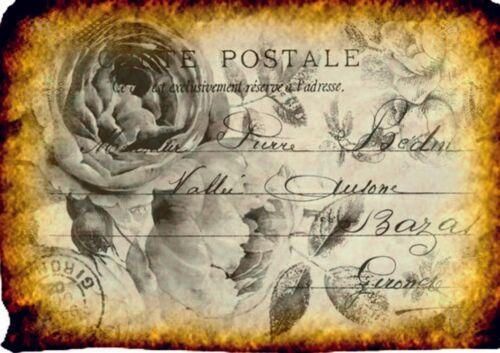 Gläser usw...Nr. 1838 Bastelpapier **Nostalgie-Vintage ** für Flaschen