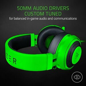 Razer Kraken Pro V2 Ovale écouteur Vert Achetez Sur Ebay