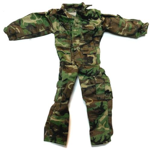 """1//6 21st Century WWII Camouflage Combat Uniform For 12/"""" The Ultimate Soldier"""