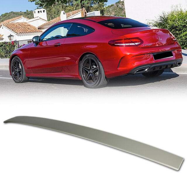 painted mercedes benz c205 c class coupe oe roof spoiler. Black Bedroom Furniture Sets. Home Design Ideas