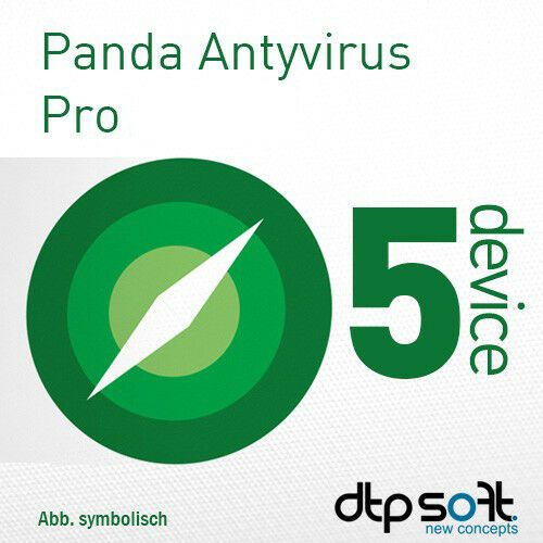 S0215702 7074 Home Antivirus Panda Dome Advanced 5 VPN Windows Panda