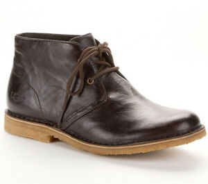 536b4a7f55b Mens Ugg Boots UGG LEIGHTON CHUKKA BOOTS Authentic 1009687 New | eBay