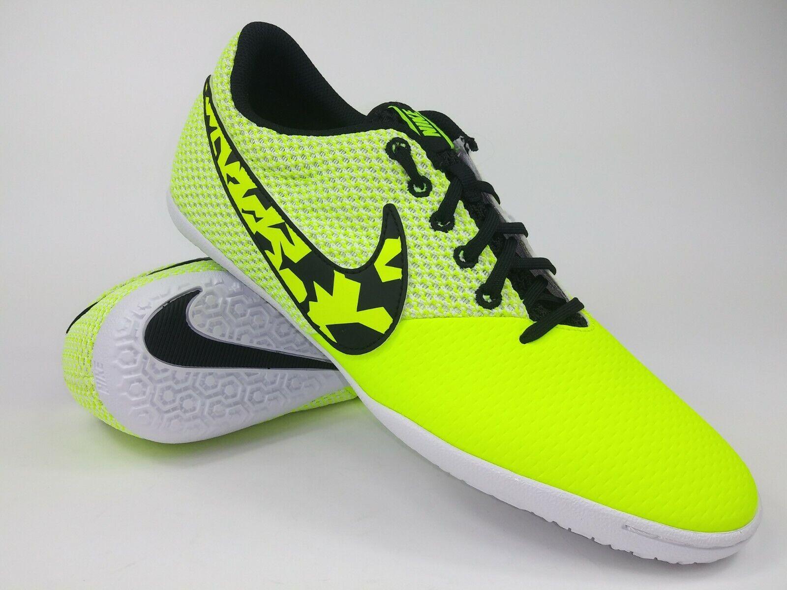 Nike Hombres Raro Elastico Pro Lll IC 685360 701 zapatos de interior amarillo blancoo talla 10.5