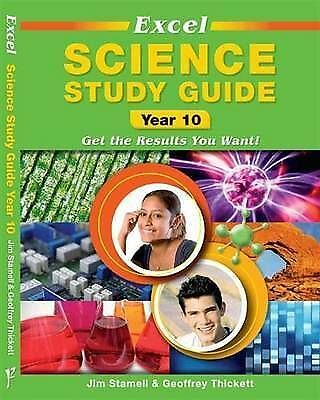 1 of 1 - Excel Science Study Guide Yr 10. Pascal Press (Paperback, 2012) NSW Curriculum