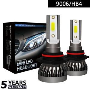 9006-HB4-Coche-Faro-LED-Lampara-Replace-Blanco-pr-Bombilla-6000K-COB-36W-B
