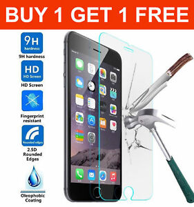Screen-Protector-For-Apple-iPhone-7-8-Tempered-Glass-Film-LCD-100-Genuine
