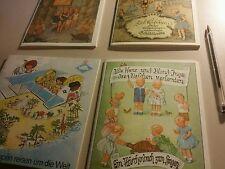 ♤♡ SELTEN ◇♧ 4 x Kinderbuch  Schildkrötbuch Sammlung  Dachboden fund alt