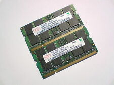 2GB 2x1GB PC2700 DDR333 CL2.5 SO-DIMM 333Mhz HYNIX LAPTOP SODIMM RAM SPEICHER