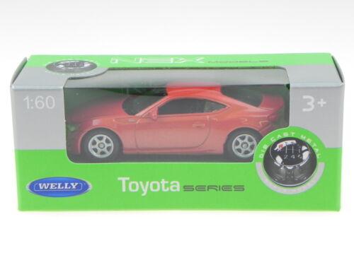 Toyota 86 kupfer Modellauto Welly 1:60